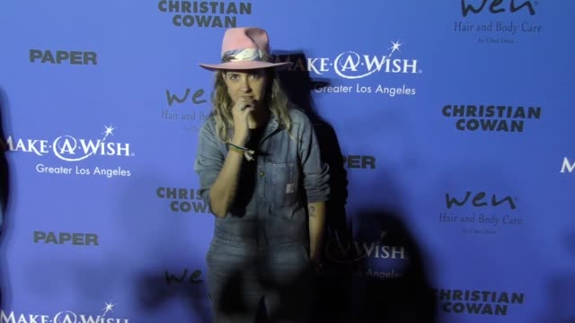 Samantha Ronson at the PAPER Magazine Runway Benefit For MakeAWish Foundation on October 24 2017 in Los Angeles California