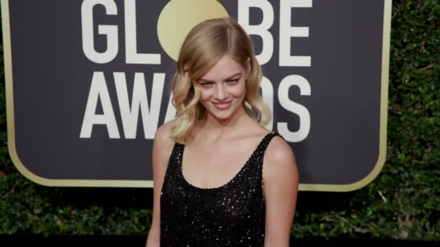 Samara Weaving at the 75th Annual Golden Globe Awards at The Beverly Hilton Hotel on January 07 2018 in Beverly Hills California