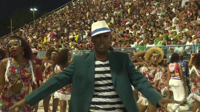 a samba school will celebrate the olympics at this years rio carnival from february 5 to 9 as the city prepares to host the games later this year - samba school stock videos and b-roll footage
