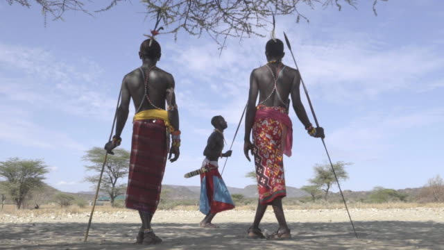 Samburu tribesmen. Kenya. Africa