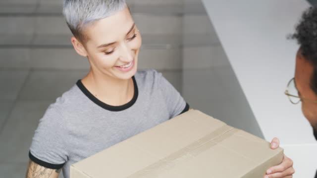 same day delivery - door to door salesperson stock videos & royalty-free footage