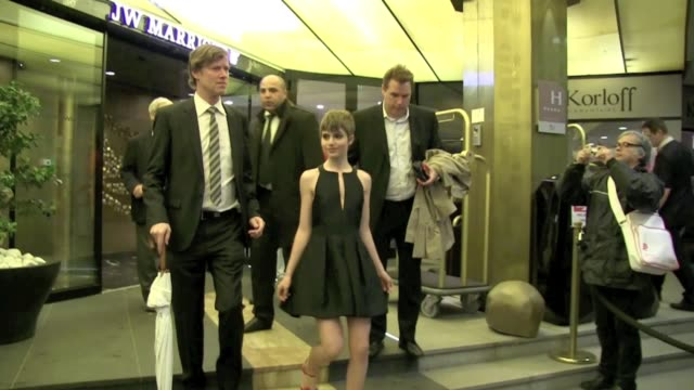 Sami Gay actress from last year's movie Detachement attended the Bling Ring after Party at Albane Cleret in Cannes