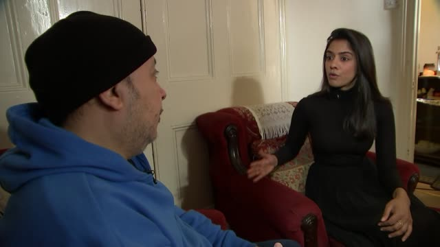 One year anniversary of death ENGLAND London INT Samer Sidhom interview SOT