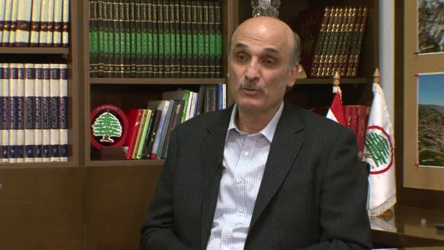 samir geagea, a leading lebanese opposition figure and outspoken critic of the syrian regime, said on 4 april that he survived an assassination... - critic stock videos & royalty-free footage