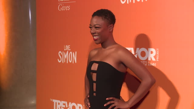 Samira Wiley at The Trevor Project TrevorLIVE NY 2018 at Cipriani Wall Street on June 11 2018 in New York City