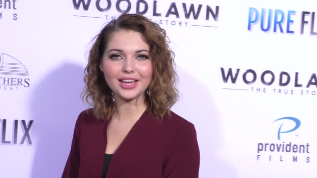Sammi Hanratty at the Woodlawn Premiere at Bruin Theatre on October 05 2015 in Los Angeles California