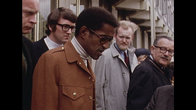 sammy davis jr talks about the shooting of robert kennedy after visiting the us embassy in london - assassination stock videos & royalty-free footage