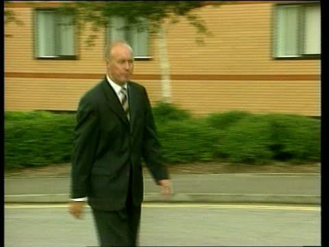 vídeos de stock, filmes e b-roll de sammy mcilroy may be new nottingham forest boss england sammy mcilroy along pan lib c5f - sammy mcilroy