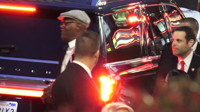 Samuel L Jackson arrives at the 'Captain Marvel' Premiere at Dolby Theatre in Hollywood in Celebrity Sightings in Los Angeles
