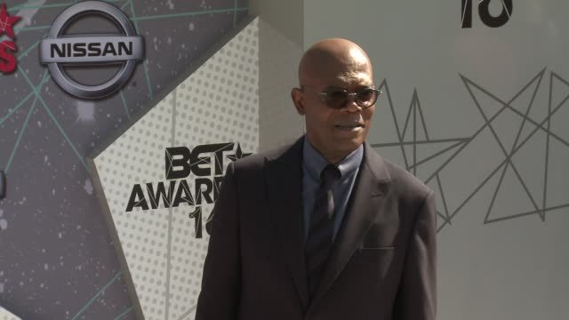 Samuel L Jackson at 2016 BET Awards in Los Angeles CA