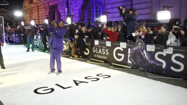 Samuel L Jackson at 'Glass' European Premiere at The Curzon Mayfair on January 09 2019 in London England
