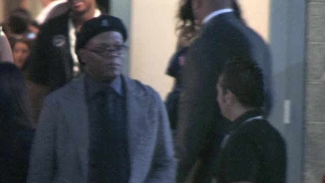 Samuel L Jackson at Nokia Live at the Celebrity Sightings in Los Angeles at Los Angeles CA