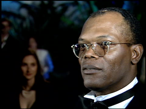 samuel l jackson at the 1995 academy awards morton party at morton's in west hollywood, california on march 27, 1995. - 67th annual academy awards stock videos & royalty-free footage