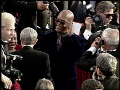Samuel L Jackson at the 2000 Academy Awards at the Shrine Auditorium in Los Angeles California on March 26 2000
