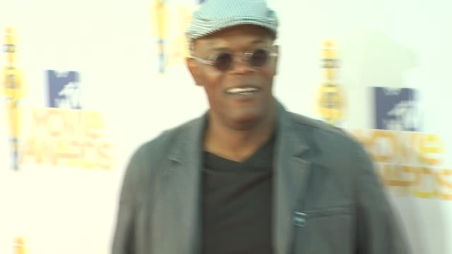 Samuel L Jackson at the 2010 MTV Movie Awards at Universal City CA