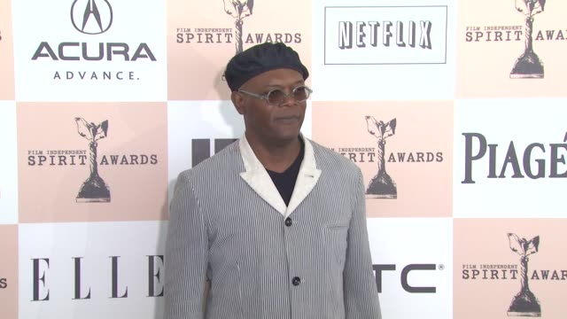Samuel L Jackson at the 2011 Independent Spirit Awards Arrivals Part 2 at Santa Monica CA