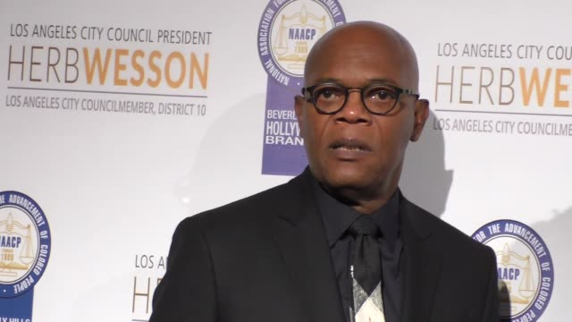 Samuel L Jackson at the 26th Annual NAACP Theatre Awards on November 22 2016 in Beverly Hills California
