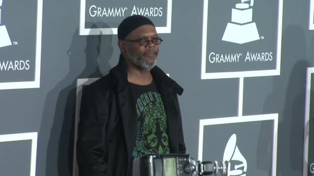 Samuel L Jackson at the 51st Annual Grammy Awards Part 5 at Los Angeles CA