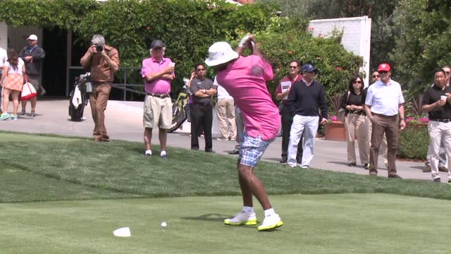Samuel L Jackson at The 7th Annual George Lopez Celebrity Golf Classic Presented By Sabra Salsa at Lakeside Golf Club on May 05 2014 in Toluca Lake...