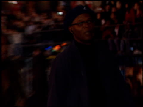 Samuel L Jackson at the 'Ali' Premiere at Grauman's Chinese Theatre in Hollywood California on December 12 2001