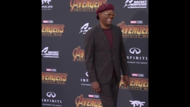 Samuel L Jackson at the 'Avengers Infinity War' World Premiere