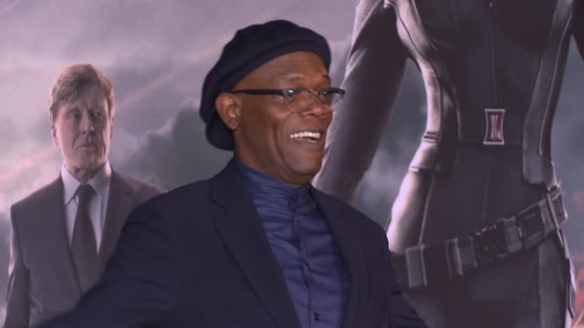 Samuel L Jackson at the Captain America The Winter Soldier Los Angeles Premiere at the El Capitan Theatre on March 13 2014 in Hollywood California