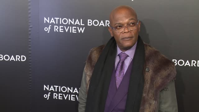 Samuel L Jackson at The National Board of Review Gala honoring the 2015 Award Winners at Cipriani 42nd Street on January 05 2016 in New York City