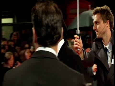 samuel l. jackson at the orange british academy film awards 2011 at london england. - ブランド名点の映像素材/bロール