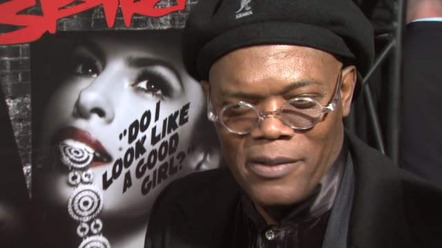 Samuel L Jackson at the 'The Spirit' Premiere at Los Angeles CA