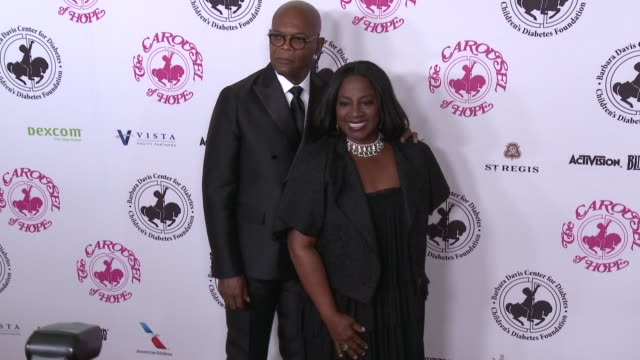 Samuel L Jackson LaTanya Richardson at The 2016 Carousel of Hope Ball in Los Angeles CA