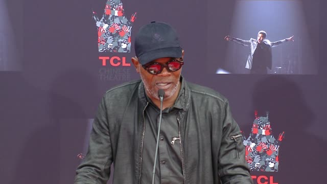 SPEECH Samuel L Jackson on memories shared with Lionel at the Lionel Richie Handprint and Footprint Ceremony At TCL Chinese Theatre at TCL Chinese...