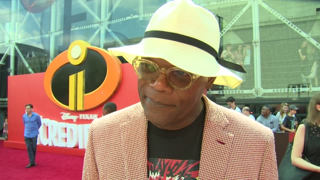 INTERVIEW Samuel L Jackson on the weather new characters and Shaft at BFI Southbank on July 08 2018 in London England