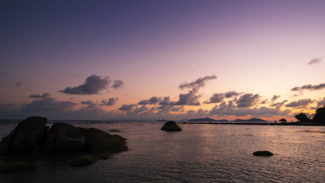 T/L PAN Samui island sunset