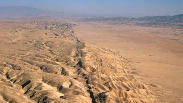 """san andreas fault, aerial"" - earthquake stock videos and b-roll footage"