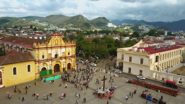 san cristóbal de las casas in chiapas, mexico - mexican culture stock videos & royalty-free footage