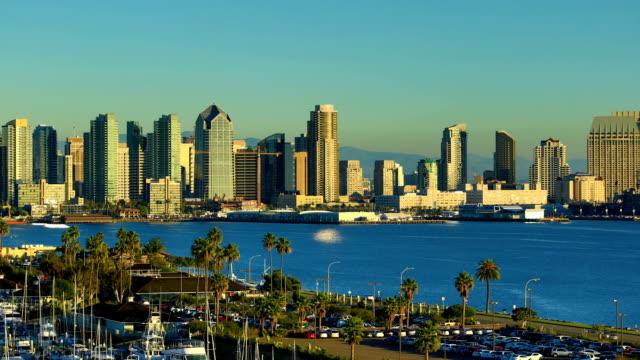San Diego, CA, Tag zur Nacht Zeitraffer