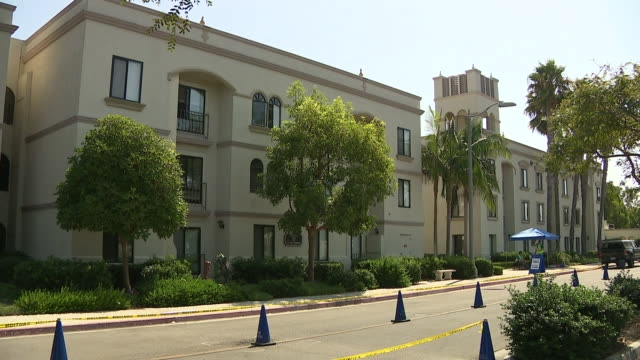 san diego, ca, u.s. - wide shots of university of san diego campus' exterior on monday, september 21, 2020. - san diego stock videos & royalty-free footage