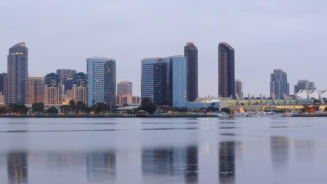 San Diego Skyline Time Lapse