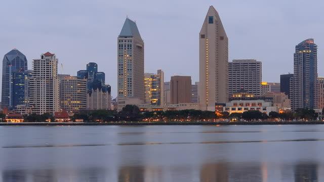 Skyline von San Diego Zeitraffer