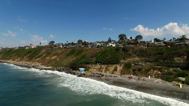 san elijo beach - western usa stock videos & royalty-free footage
