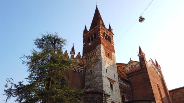 san fermo maggiore, verona - italian currency stock videos & royalty-free footage