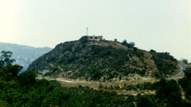 san fernando valley on june 01, 1949 in los angeles, california - オレンジ果樹園点の映像素材/bロール