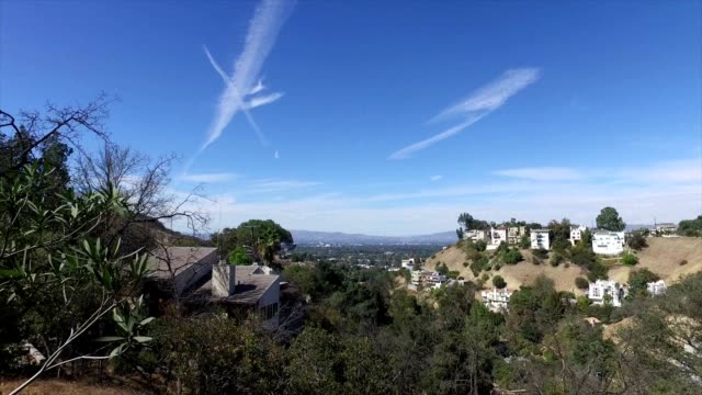 san fernando valley views - studio city stock videos & royalty-free footage