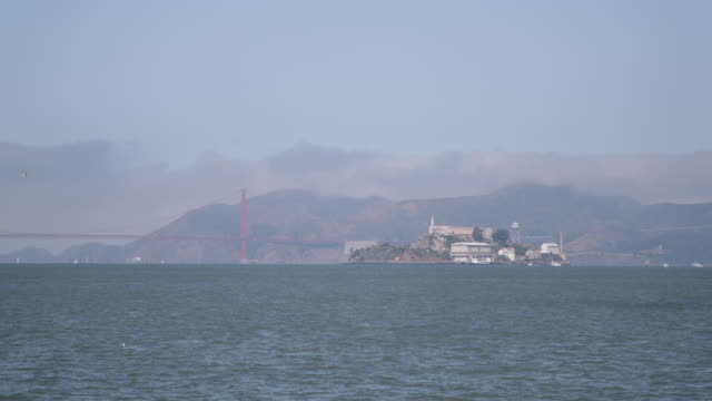 san francisco - 4k - alcatraz island stock videos & royalty-free footage
