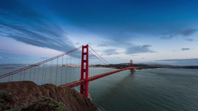 サンフランシスコの素晴らしい低速度撮影シーケンスボラティリティ 1 ます。 - ビフォーアフター点の映像素材/bロール