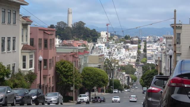 サンフランシスコの建築 - コイトタワー点の映像素材/bロール