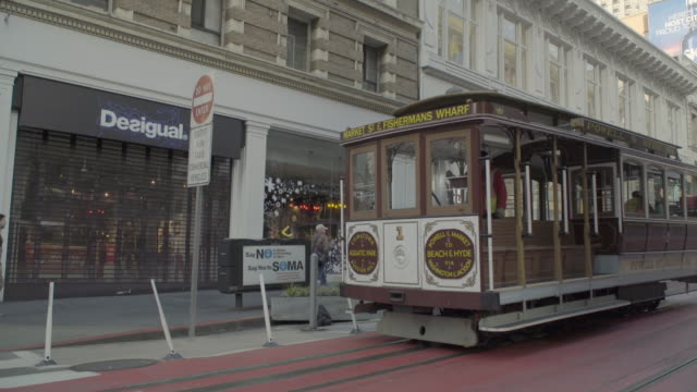 san francisco / bay area / cable cars - marin stock videos & royalty-free footage