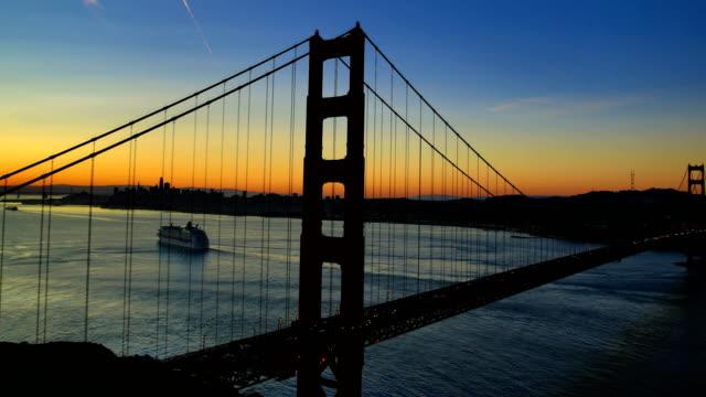 San Francisco bay at sunrise