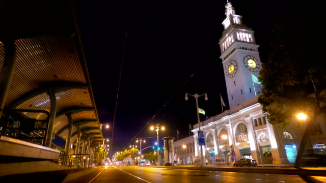 san francisco bay trail and the embarcadero - financial building stock videos and b-roll footage