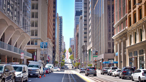 san francisco business downtown - san francisco bay stock videos & royalty-free footage